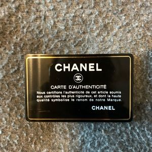 CHANEL Accessories - Chanel Goatskin Card Holder